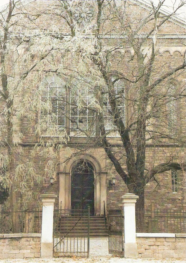 Evangelische Kirche Eich Ansicht von Westen