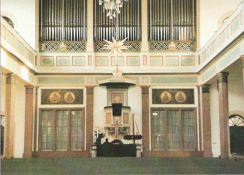 Evangelische Kirche Eich Gesamtansicht innen